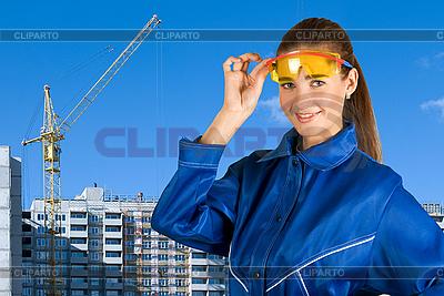 Девушка-строитель | Фото большого размера |ID 3027570