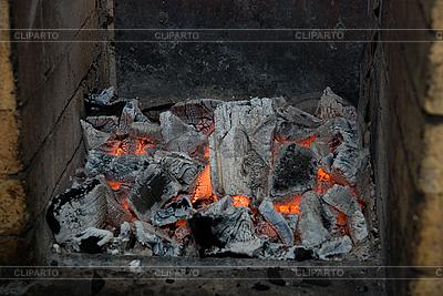 Live wood coals | High resolution stock photo |ID 3027584