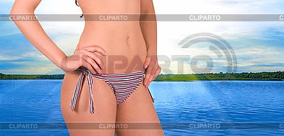 Bikini beach   High resolution stock photo  ID 3027682