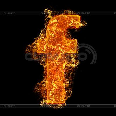 작은 문자 F를 화재 | 높은 해상도 사진 |ID 3027697