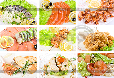 Fisch-Speisen | Foto mit hoher Auflösung |ID 3027698