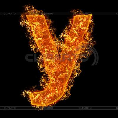 화재 소문자 Y   높은 해상도 사진  ID 3027725