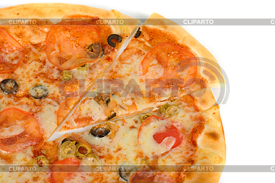 Margarites pizza | High resolution stock photo |ID 3028276