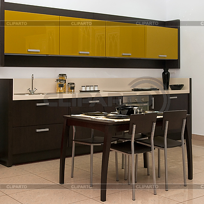 Küche Interieur | Foto mit hoher Auflösung |ID 3028438
