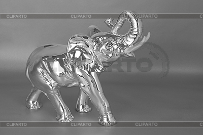 Серебряный ювелирный слон | Фото большого размера |ID 3028649