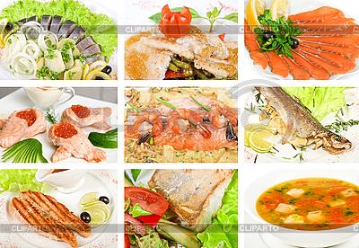 Dania z ryb | Foto stockowe wysokiej rozdzielczości |ID 3028684