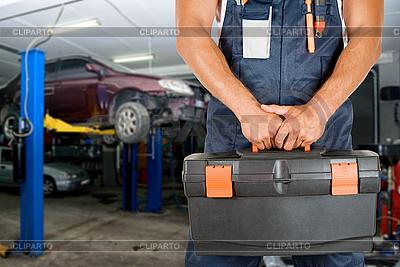 Mechanik samochodowy | Foto stockowe wysokiej rozdzielczości |ID 3028685