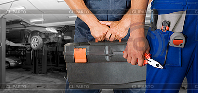 Mechaników samochodowych | Foto stockowe wysokiej rozdzielczości |ID 3028687