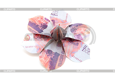 Ruble banknotes as flower | High resolution stock photo |ID 3029463