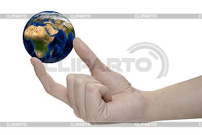Earth in hand   High resolution stock photo  ID 3029515
