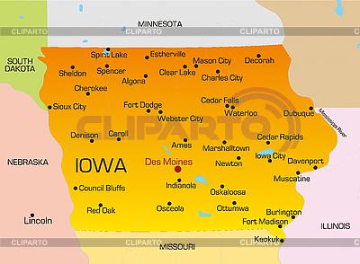 Iowa | Illustration mit hoher Auflösung |ID 3029712