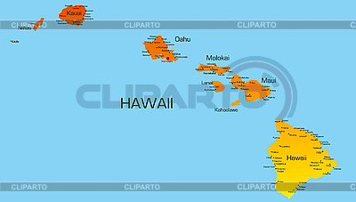 Hawaii | Stockowa ilustracja wysokiej rozdzielczości |ID 3029763