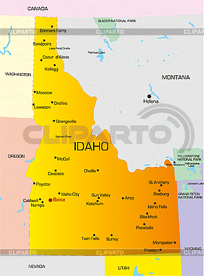 Idaho  | High resolution stock illustration |ID 3029770