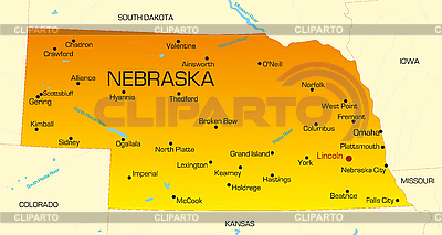 Nebraska | Illustration mit hoher Auflösung |ID 3029796