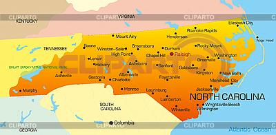 Karolina Północna | Stockowa ilustracja wysokiej rozdzielczości |ID 3029802
