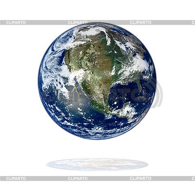 Ameryka Północna z przestrzeni | Foto stockowe wysokiej rozdzielczości |ID 3029808
