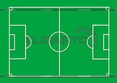 Футбольное поле | Иллюстрация большого размера |ID 3029819