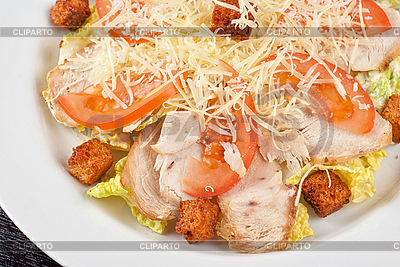 Chicken meat filet salad | High resolution stock photo |ID 3029987