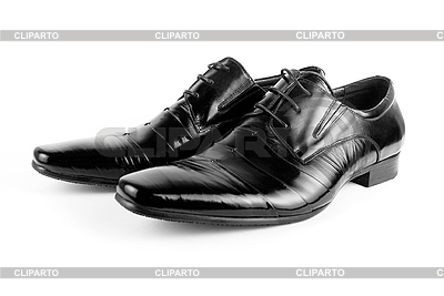 Czarny mężczyzna buty | Foto stockowe wysokiej rozdzielczości |ID 3030256
