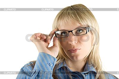 Деловая женщина в очках | Фото большого размера |ID 3030471