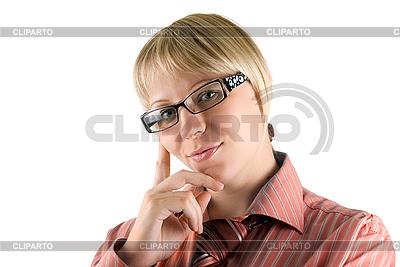 안경 여자 | 높은 해상도 사진 |ID 3030482
