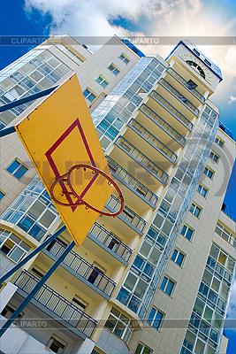 Basketball-Rückwand | Foto mit hoher Auflösung |ID 3030517