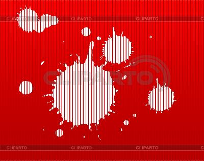 Red striped blots | High resolution stock illustration |ID 3030525
