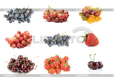 Dojrzałe owoce i jagody   Foto stockowe wysokiej rozdzielczości  ID 3030580