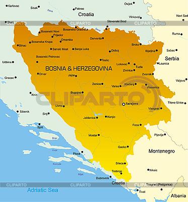 Bośnia i Hercegowina | Stockowa ilustracja wysokiej rozdzielczości |ID 3030598