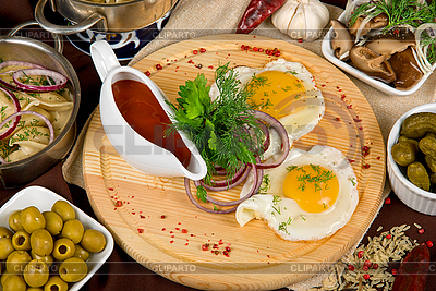 Wiele potraw żywności | Foto stockowe wysokiej rozdzielczości |ID 3031055