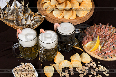 Beer Nosh-up | High resolution stock photo |ID 3031071
