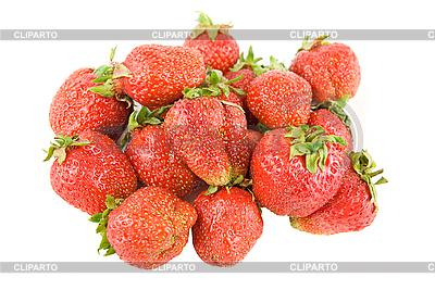 Red ripe strawberries   High resolution stock photo  ID 3031224
