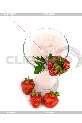 Fresh strawberry milkshake | High resolution stock photo |ID 3031233