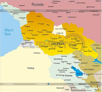 Georgia map | Stockowa ilustracja wysokiej rozdzielczości |ID 3031432