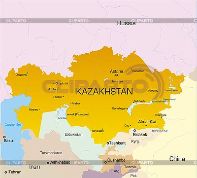 Kazakhstan | High resolution stock illustration |ID 3031436
