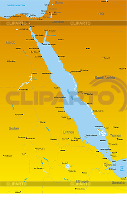 Red Sea region | High resolution stock illustration |ID 3031442