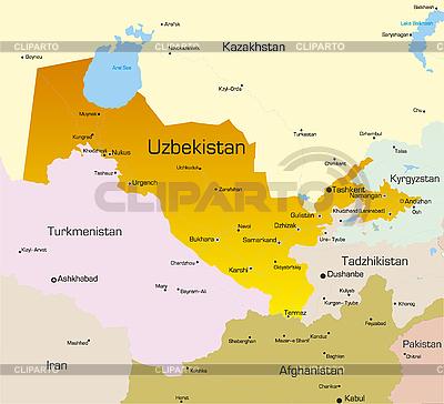 Usbekistan | Illustration mit hoher Auflösung |ID 3031448