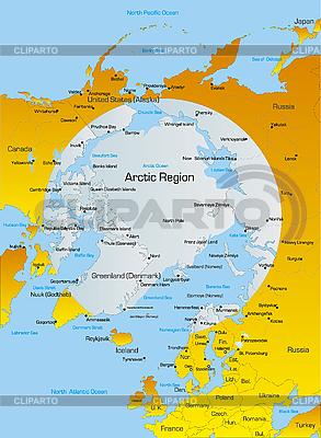 Arctic region | High resolution stock illustration |ID 3031482