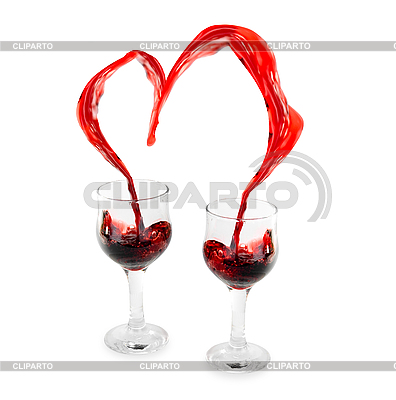 Wine Heart  | High resolution stock photo |ID 3031493