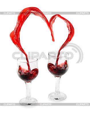 Wine Heart    High resolution stock photo  ID 3031497