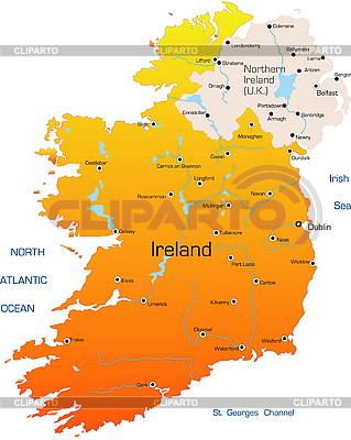 Ireland map | Stock Vector Graphics |ID 3031939