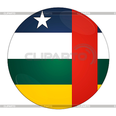Central Africa button with flag | High resolution stock illustration |ID 3032515