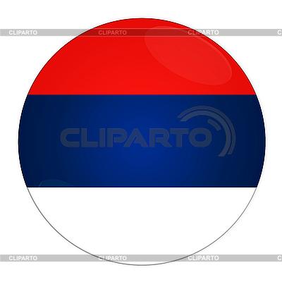 Serbien Icon mit Flagge | Illustration mit hoher Auflösung |ID 3032603