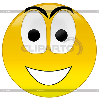 Happy smiley | High resolution stock illustration |ID 3033369