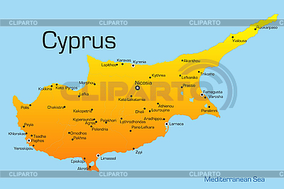 Cyprus  | Stock Vector Graphics |ID 3033442