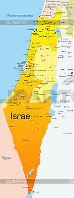 Israel map | Stock Vector Graphics |ID 3033479