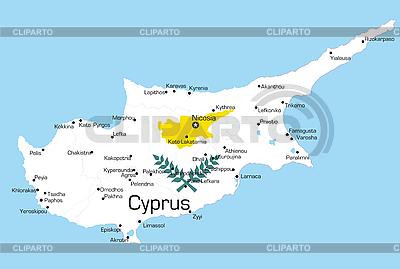 Cyprus  | Stock Vector Graphics |ID 3034827