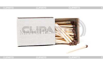 Спички в открытой коробочке | Фото большого размера |ID 3034878