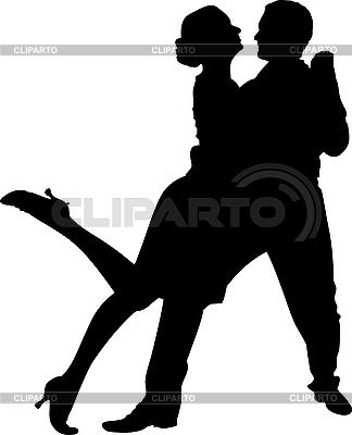 Para tańczy | Klipart wektorowy |ID 3035357