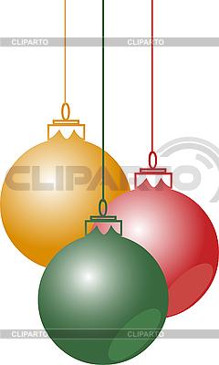 Weihnachtskugeln | Stock Vektorgrafik |ID 3035386